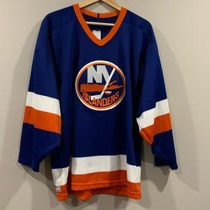 Vtg 1990's New York Islanders Jersey ~ CCM Maska